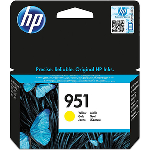 Cartus HP 951 (CN052AE), yellow