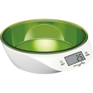 Cantar de bucatarie MYRIA MY4183GR, 5 kg, verde