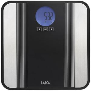 Cantar de persoane LAICA PS5012, electronic, sticla, 180kg, negru
