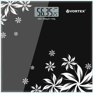 Cantar de persoane VORTEX VO4802, electronic, 180kg, negru