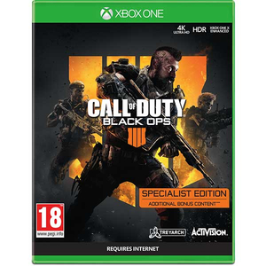 Call of Duty Black OPS 4 Specialist Xbox One