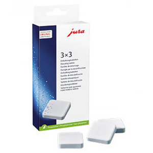 Tablete anticalcar JURA 61848, 9 x tablete