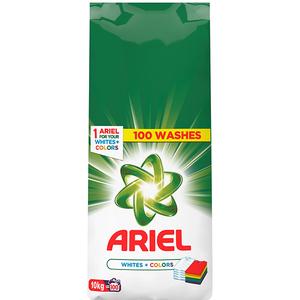 Detergent automat ARIEL White&Color, 10kg, 100 spalari