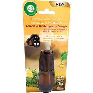 Rezerva difuzor de parfum AIR WICK Essential Mist Lamaie si Cimbru, 20 ml