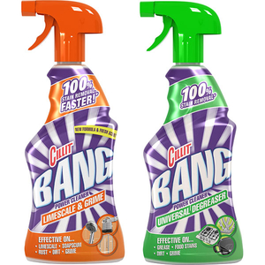 Duo Pack CILLIT Bang Limescale&Grime + Degresant