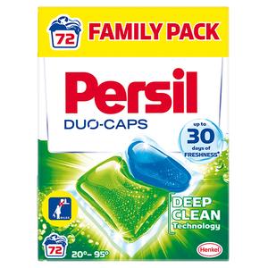 Detergent capsule PERSIL Duo-Caps Universal, 72 spalari