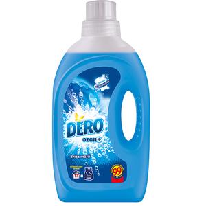 Detergent automat lichid DERO Ozon+ Briza marii, 1.1l, 17 spalari