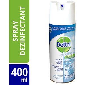 Spray dezinfectant suprafete DETTOL Mountain 400 ml