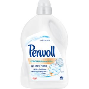 Detergent lichid PERWOLL Renew White, 2.7L, 45 spalari