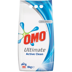 Detergent automat OMO Ultimate Active Clean, 8kg, 100 spalari