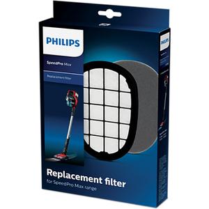 Kit filtre aspirator vertical PHILIPS SpeedPro Max FC5005/01: 1 Filtru de schimb + 1 Filtru lavabil pentru motor
