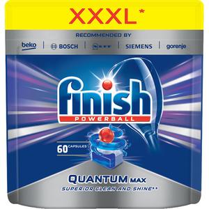 Dtergent vase pentru masina de spalat vase FINISH Quantum Max, 60 bucati