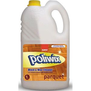 Detergent pentru parchet SANO Poliwix, 4l