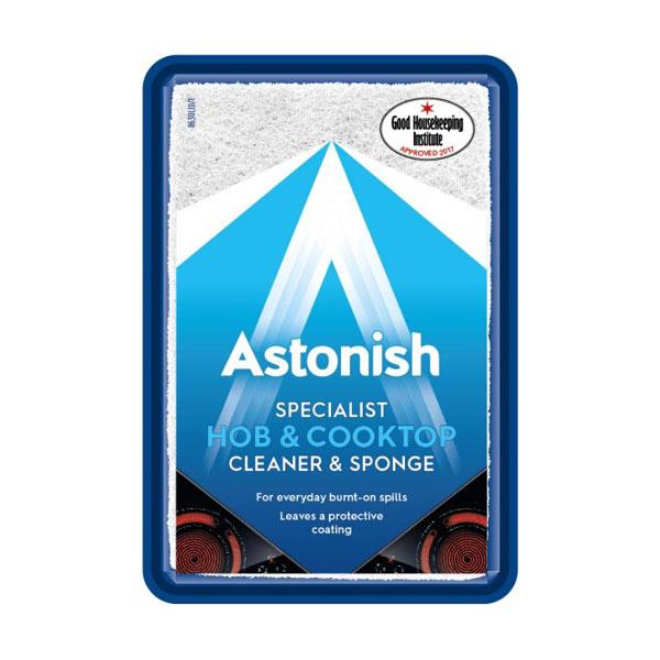 Pasta speciala pentru plita si hota +burete ASTONISH C8630, 250g