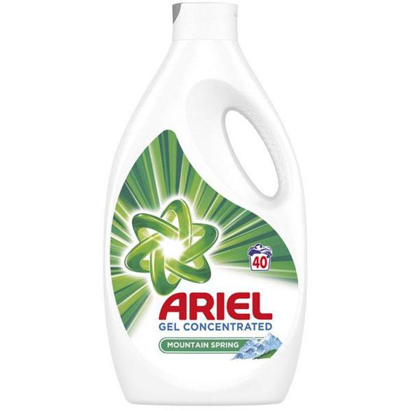 Detergent lichid ARIEL Mount Spring, 2.2l