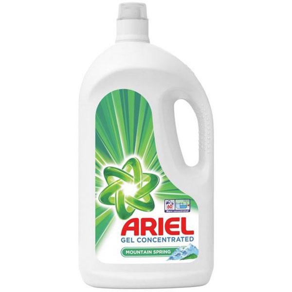 Detergent lichid ARIEL Mountain Spring, 3.3l