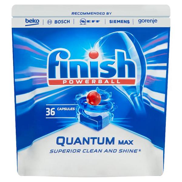 Detergent pentru masina de spalat vase FINISH Quantum Regular, 36 bucati