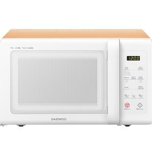 Cuptor microunde DAEWOO KOR-91RBWO, 25l, 900W, alb - portocaliu