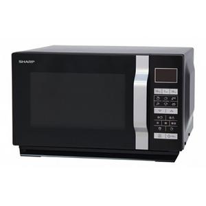 Cuptor microunde cu grill SHARP R-760BK, 23l, 900W, negru