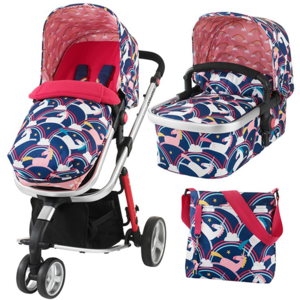 Carucior 2 in 1 COSATTO Giggle 2 Magic Unicorns, 0 luni - 3 ani, multicolor