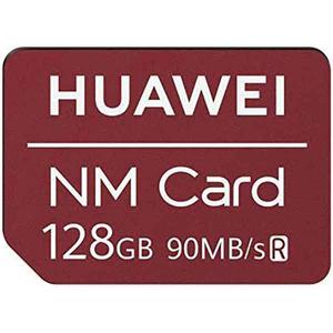 Nano Memory Card HUAWEI 6010396 128gb, Mate 20 Pro, 90MBs, rosu