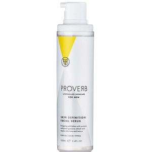 Scrub de curatare faciala pentru barbati PROVERB 1105, 100ml