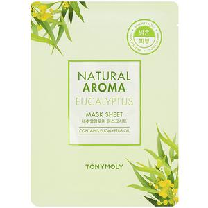 Masca de fata TONYMOLY Natural Aroma Mask Sheet Eucalyptus, 21g