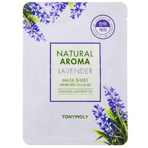 Masca de fata TONYMOLY Natural Aroma Mask Sheet Lavender, 21g