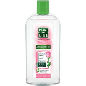Apa micelara 3in1 cu extract de Trandafir PLANT LINE, 400ml