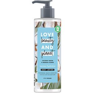 Lotiune de corp LOVE BEAUTY AND PLANET Luscious Hydration, 400ml