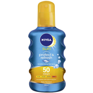 Spray protectie solara NIVEA Protect&Refresh, SPF 50, 200ml