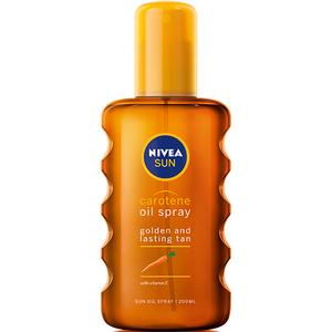Spray accelerator bronzant NIVEA Carotene, SPF 0, 200ml