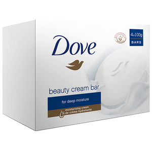 Pachet DOVE Beauty Original: Sapun, 4 x 100g