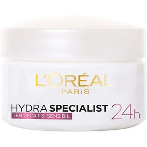 Crema de fata pentru ten uscat L'OREAL PARIS Hydra Specialist, 50ml