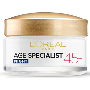 Crema de noapte antirid L'OREAL PARIS Age Specialist 45+, 50ml