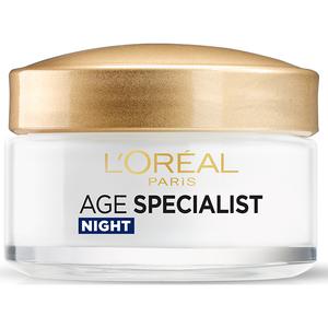 Crema de noapte antirid L'OREAL PARIS Age Specialist 55+, 50ml