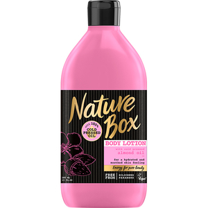 Lotiune de corp NATURE BOX Migdala, 385ml
