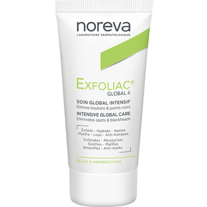 Tratament facial NOREVA Exfoliac Global 6, 30ml