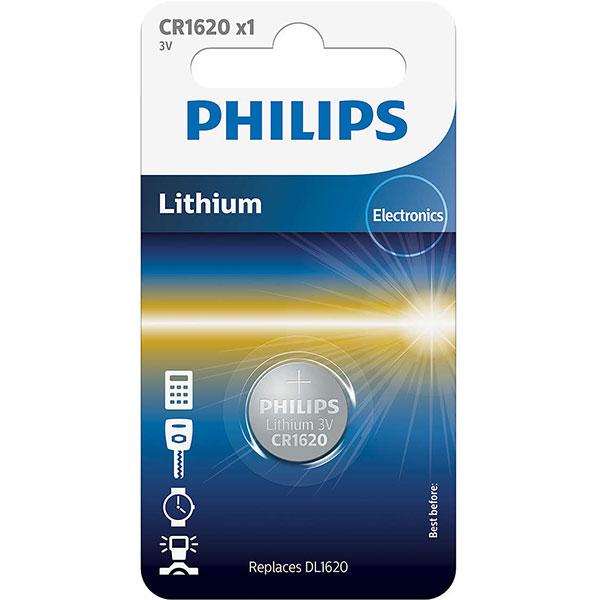 Baterie litiu PHILIPS CR1620, 3V