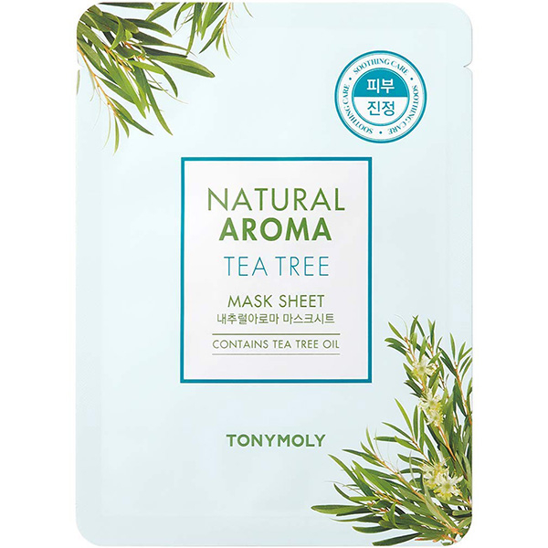 Masca de fata TONYMOLY Natural Aroma Mask Sheet Tea Tree, 21g