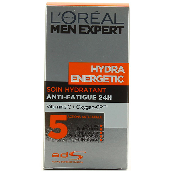 Crema de zi L'OREAL PARIS Men Expert Hydraenergetic, 50ml