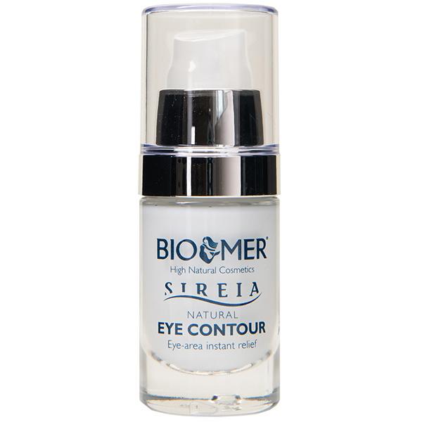 Crema contur pentru ochi cu acid hialuronic BIO MER Sireia Natural, 20ml