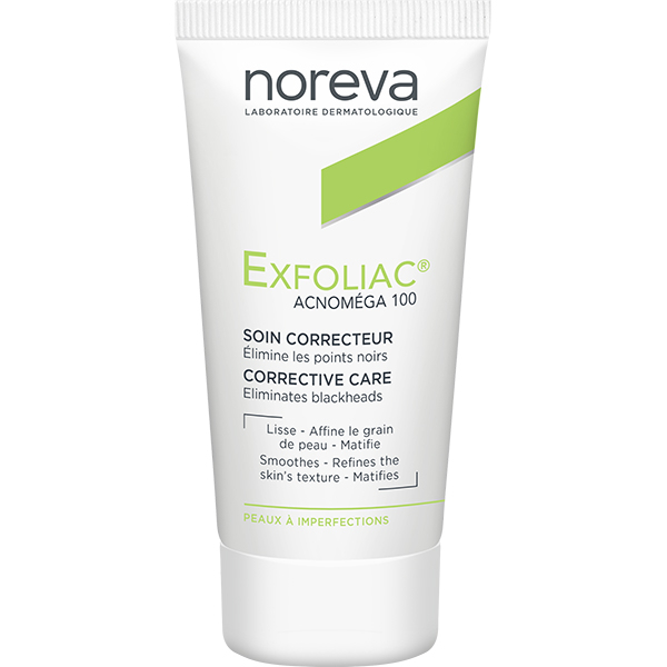 Tratament facial NOREVA Exfoliac Acnomega 100, 30ml