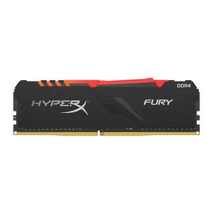 Memorie desktop KINGSTON HyperX Fury RGB 8GB DDR4, 3000MHz, CL15, HX430C15FB3A/8