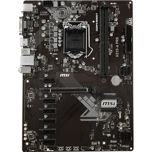 Placa de baza MSI H310-A PRO, socket 1151, 2xDDR4, 4xSATA3, ATX