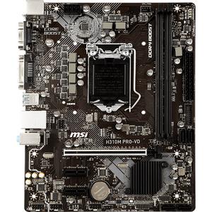 Placa de baza MSI H310M PRO-VD, socket 1151, 2xDDR4, 4xSATA3, mATX