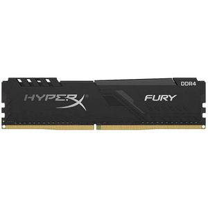 Memorie desktop KINGSTON HyperX Fury Black, 8GB DDR4, 2400MHz, CL15, HX424C15FB3/8