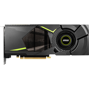 Placa video MSI GeForce RTX 2080 AERO 8G, 8GB GDDR6 256bit, AERO-RTX2080-8G