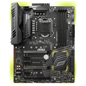 Placa de baza MSI Z370 SLI PLUS, socket 1151, 4xDDR4, 6xSATA3, ATX
