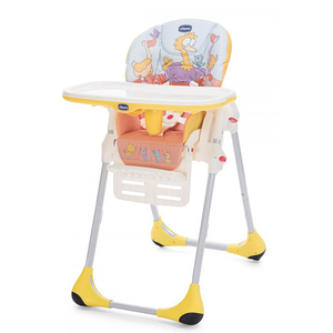 Scaun de masa CHICCO Polly Easy BirdLand, 6 luni - 3 ani, multicolor